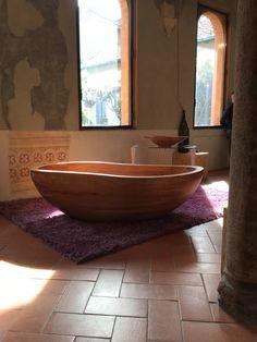 Bathtub mod. Beyond _Classic in solid wood Milano design week 2015