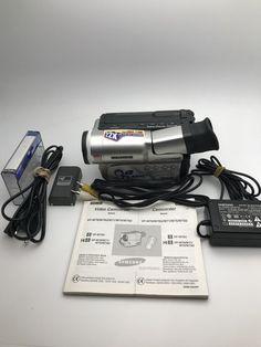 Samsung Camcorder for sale online Camcorder, Samsung, Videos, Compact, Amp, Slim, Silver, Ebay, Video Camera