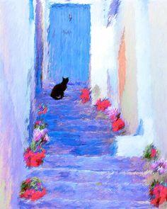 Cat in Mojacar, Spain