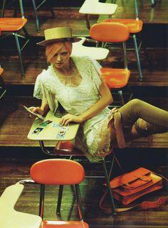 "Miranda Kerr's ""Bad Education"": Numéro #114 June 2010 ""La Mauvaise Education"" by Greg Kadel, styled by Patti Wilson"