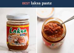 This Laksa recipe is just like the laksa you get from real Malaysian laksa joints. You can't just dump laksa paste from a jar into coconut milk! Laksa Soup Recipes, Laksa Recipe, Coriander Cilantro, Vermicelli Noodles, Recipetin Eats, Sriracha Sauce, Chicken Drumsticks, Fish Sauce, Noodle Soup