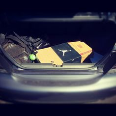 Always prepared to go sporting ! #mytrunk
