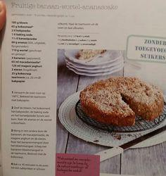 Banaan wortel ananas cake (gezondetenmagazine )
