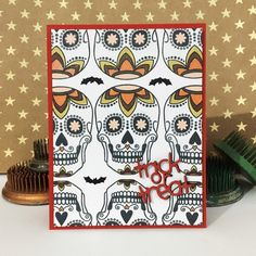 How about some sugar skulls to sweeten up your Halloween?