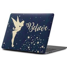Add Disney magic to your MacBook Pro with the Tinker Bell Believe MacBook Pro Skin by Skinit. Buy the Disney Tinker Bell Believe MacBook Pro Skin online now. Macbook Pro 15 Inch, Macbook Pro Case, Dell Laptop Skin, Tinkerbell Quotes, Macbook Pro Accessories, Disney Cases, Macbook Skin, Best Laptops, Shopping