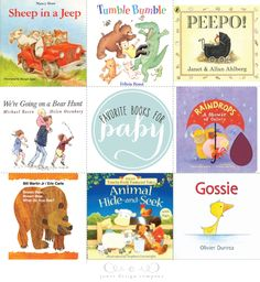 book week: favorite books for baby