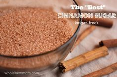 "I tried several blends of Cinnamon Sugar (low carb versions) to find the ""best"" blend - find out which one was our favorite! (Different ratios of sweetener to cinnamon) Pumpkin Pie Recipes, Low Carb Recipes, Real Food Recipes, Yummy Food, Breakfast And Brunch, Homemade Spices, Homemade Seasonings, Tostadas, Spice Mixes"