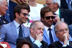 Gerard Butler And Bradley Cooper Were Selfie-Taking BFFs At Wimbledon | Gerard Butler And Bradley Cooper Were Selfie-Taking BFFs At Wimbledon
