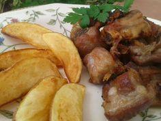 Me sabe a Málaga: Costillas de cerdo al ajillo