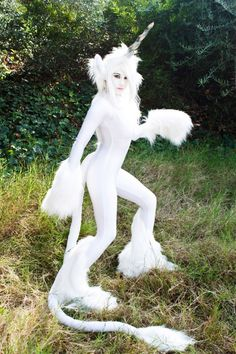 White Unicorn Costume. $449.00, via Etsy.