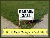 3 Ways to Make Money at a Yard Sale