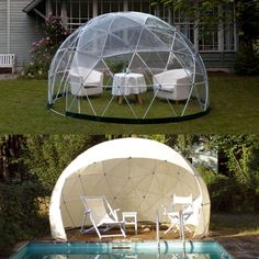 garten iglu pavillon zelt mit sommerdach. Black Bedroom Furniture Sets. Home Design Ideas