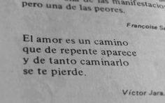 El amor es un camino...