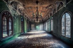 Faith is Torment | Art and Design Blog: Abandoned Buildings: Photos by Matthias Haker