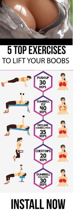 Boob lift exercise — pic 8