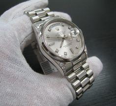 mens rolex president datejust 18k gold over 22 carats diamonds platinum rolex watches genuine rolex president day date diamond platinum men s watch