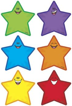 Name Labels for the Classroom - Star Theme {Editable} Learning Colors For Kids, Teaching Colors, File Folder Activities, Graphing Activities, Classroom Displays, Classroom Decor, Classroom Labels, School Labels, School Clipart