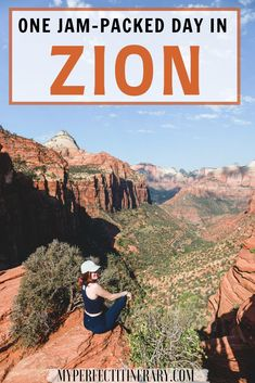 Traveling to Zion National Park and looking for the perfect one day itinerary? In this zion itinerary, I go over the confusing AF shuttle system, give tons of photography inspo, best sunrise / sunset locations, and tons of tips for hiking the famous Narrows in Zion! Be sure to click to read ALL the tips, I don't hold back! :) #zionnationalpark #utahtravel #usaroadtrips #southwestusa