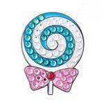 Bonjoc Lollipop Swarovski Crystal Ball Marker