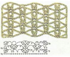 Picasa Web Albums. Crochet stitches pattern & diagram