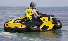 High Speed Amphibians, Alan Gibbs, GIBBS Quadski, GIBBS, amphibious vehicle, futuristic car, concept vehicle, concept car