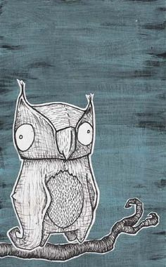 Owl by TaintNotThyMind.deviantart.com