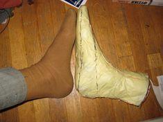 shoe pattern making...