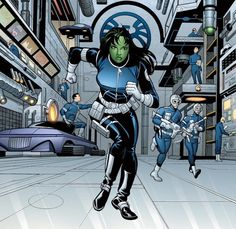 Rick Burchett She-Hulk