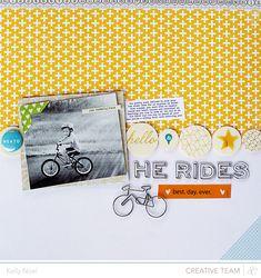 He Rides - Studio Calico Antiquary Kits - Kelly Noel