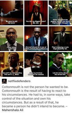 Luke Cage, Power Man, Cornell Dillard, Cottonmouth, marvel, mcu, avengers, the defenders
