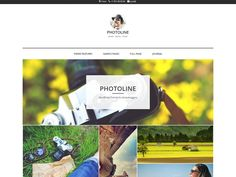 WordPress › Photoline Lite « Free WordPress Themes Wordpress Template, Photo Story, Premium Wordpress Themes, Traveling By Yourself, Web Design, Blog, Free, Design Web, Blogging