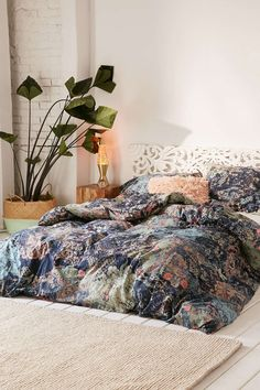Sato Worn Duvet Cover - Urban Outfitters