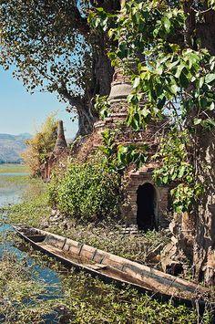 Overgrown Myanmar