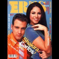 Revista eres Carlos Ponce y shakira
