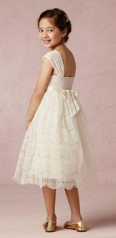 Elsie flower girl Dress