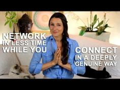 Networking - How to network in less time and still be genuine