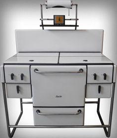 "cgmfindings: "" 1936 Art Deco Magic Chef stove American Stove Company, Saint Louis, Missouri """