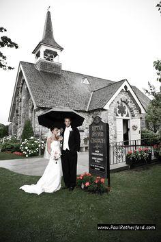 Little Stone Church Mackinac Island Wedding