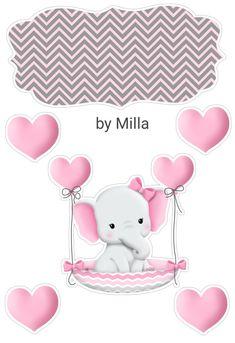 Happy Birthday Special Friend, Happy Birthday Art, Elephant Nursery, Baby Elephant, Dibujos Baby Shower, Lol Doll Cake, Bunny Drawing, Baby Stickers, Baby Shawer