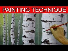 Zeichnen malen How to Paint Birch Tree Trunks in a Basic Step by Step Acrylic Painting Tutorial by JM Lisondra Acrylic Painting Acrylic acrylic painting Basic birch Lisondra malen Paint Painting Step tree Trunks Tutorial Zeichnen Acrylic Painting Tutorials, Acrylic Art, Diy Painting, Tree Trunk Painting, Birch Trees Painting, Music Painting, Knife Painting, Painting Abstract, Painting Frames