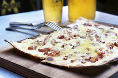 Recipe: Flammkuchen, Pizza's French-German Cousin | NPR Berlin