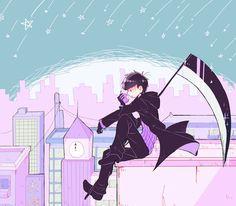 Imagen de anime, ichimatsu, and osomatsu-san