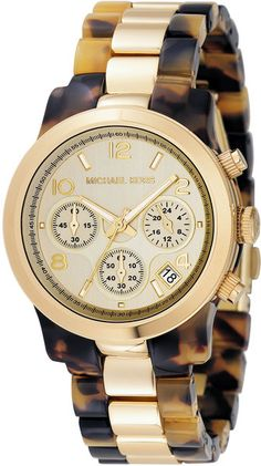 Love this watch! I want it sooo badly! The tortoiseshell with the gold = perfection!