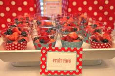 """Photo 2 of 15: little red wagon / Birthday """"Ryan's Red Wagon 1st Birthday"""" 