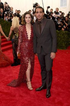 Rose Byrne in Calvin Klein Collection at the Met Gala