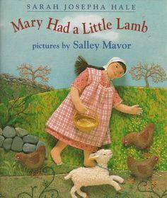 Mary Had a Little Lamb von Sarah Hale https://www.amazon.de/dp/0531068757/ref=cm_sw_r_pi_dp_X9qNxbR1T5D0E