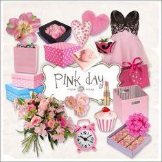 Freebies Kit - Día del rosa