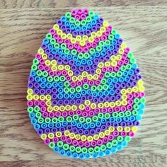Easter egg hama beads by comill