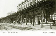 Het station in Zutphen.