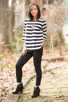 Stripes & StyleSpotter - Kate Style Petite